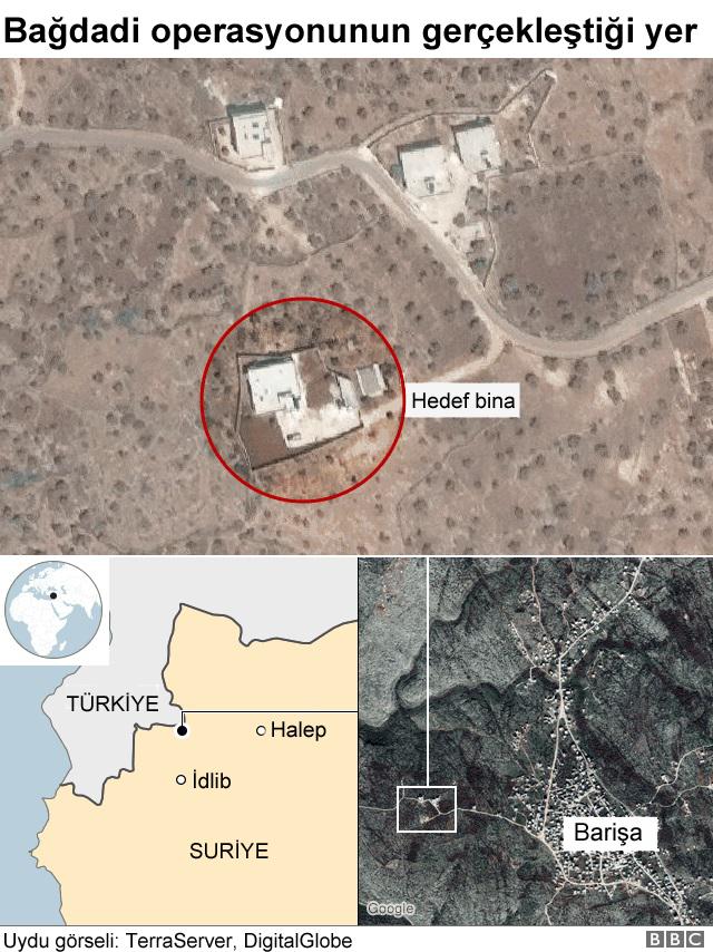 Bağdadi'nin saklandığı ev