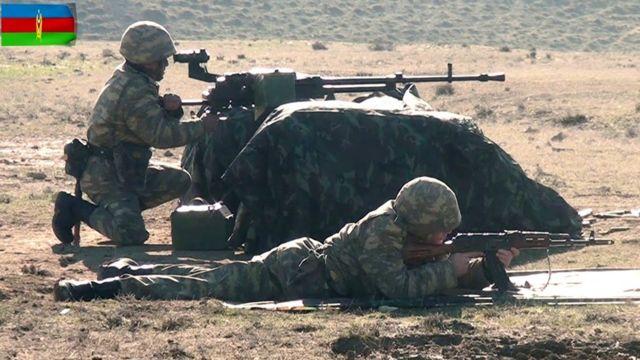 Азербайджанські бійці