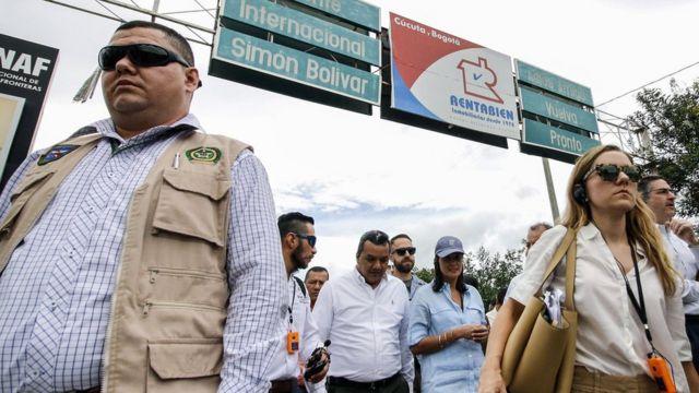 Puente Simón Bolívar entre Colombia y Venezuela