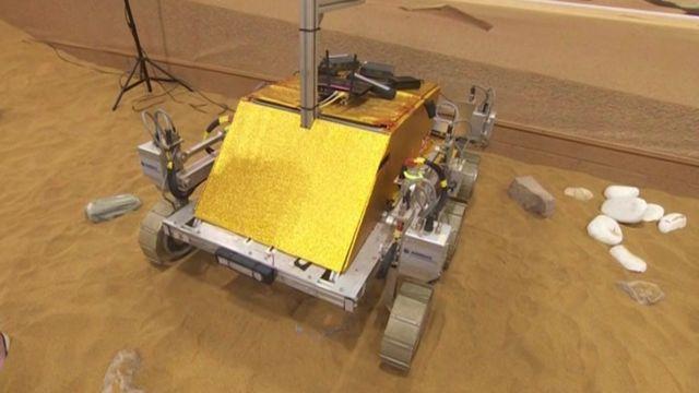 European Space Agency rover, named Bridget