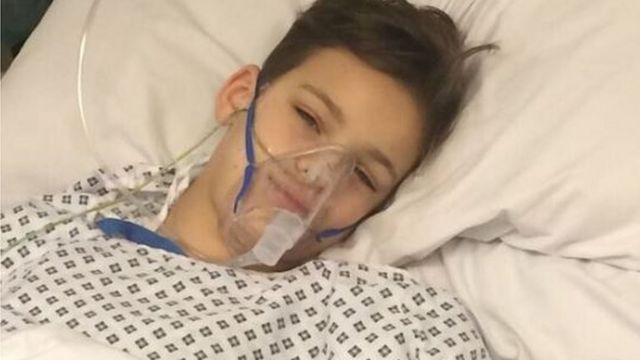 Freddie Webster en el hospital. (Foto: Cascadenews)