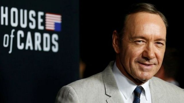 """Kevin Spacey for di show, """"House of Cards"""""""
