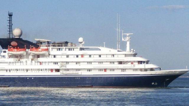 Corinthian cruise ship