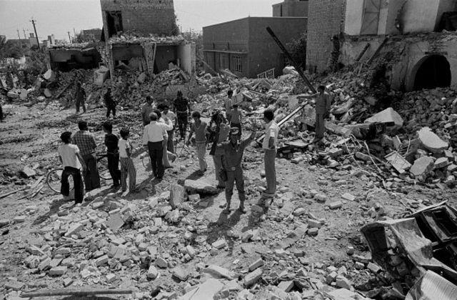 ویرانههای جنگ ایران و عراق در بغداد