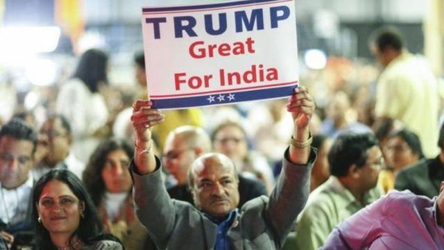 ट्रंप के भारतीय समर्थक