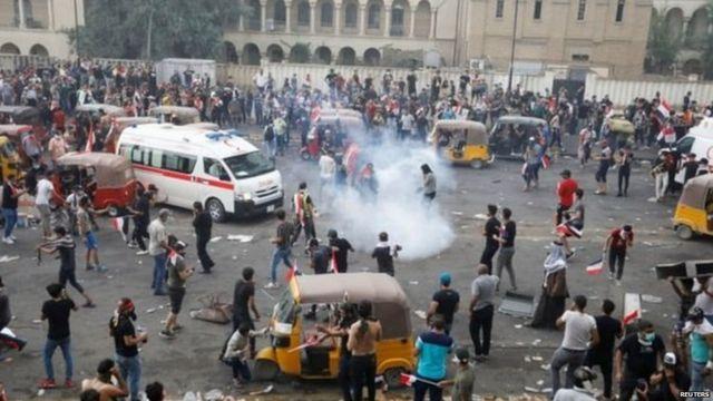 इराक़ प्रदर्शन