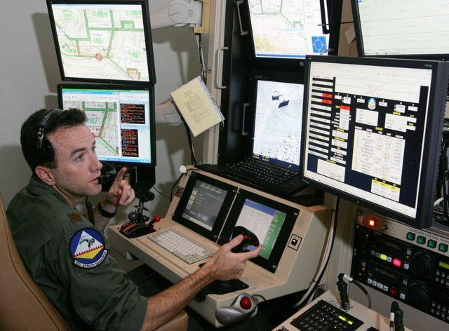 ABD'nin Afganistan ve Irak'taki SİHA'larını Nevada'dan kontrol eden bir SİHA operatörü