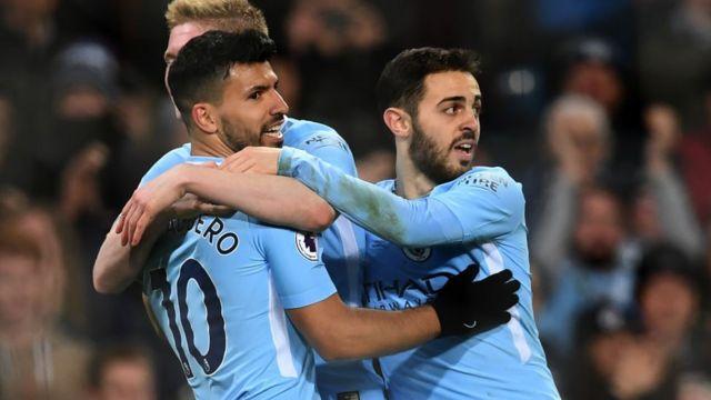 Manchester City s'est largement imposé sur Leicester samedi sur le score de 5 à 1.