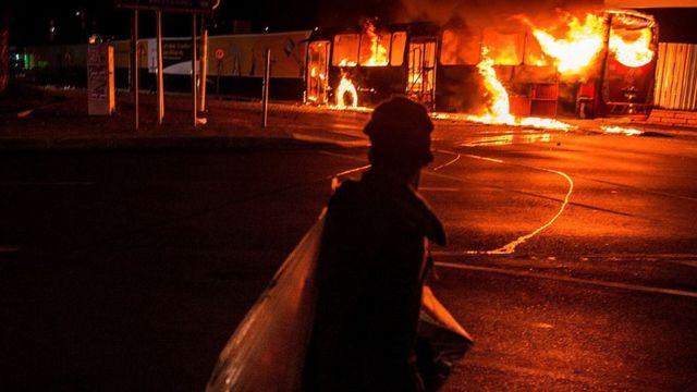 afrique du sud, violence, manifestations étudiants