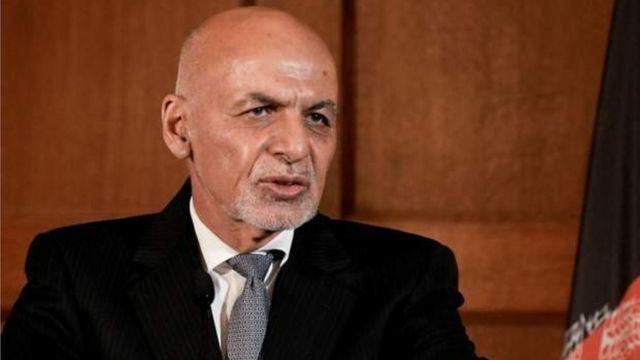 Madaxweynaha Afghanistan Ashraf Ghani