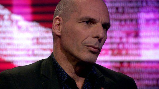Yanis Varoufakis, former Greece finance minister