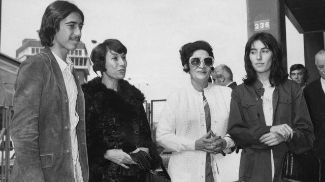 ज़ुल्फ़िकार अली भुट्टो का परिवार