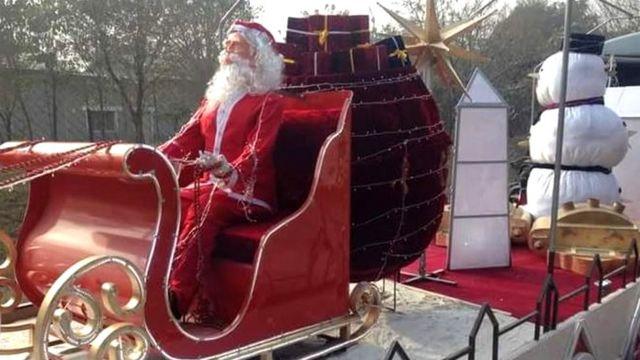 क्रिसमस ट्रेन