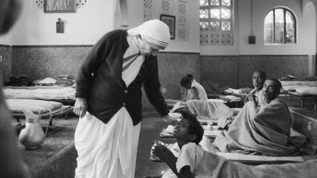 Madre Teresa en Calcuta