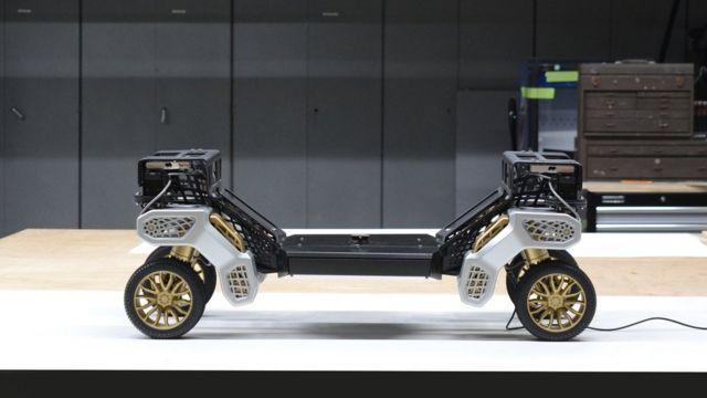 شاسی تایگر طوری طراحی شده که میتوان اتاق و امکانات مختلف را روی آن سوار کرد