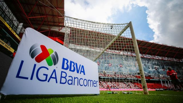 A poster of the Liga Mx