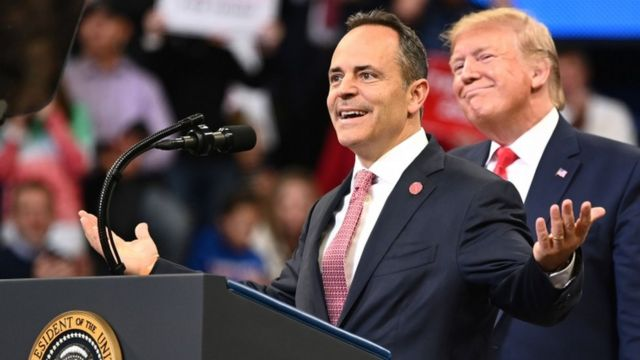 Matt Bevin was elected governor of Kentucky in 2015