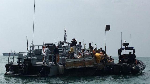 Perahu Rohingya