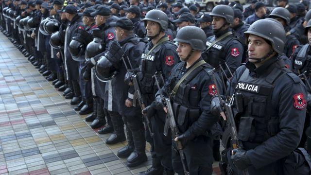 شرطة، ألبانيا