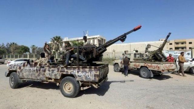 قوات تابعة لحكومة الوفاق الوطني في طرابلس