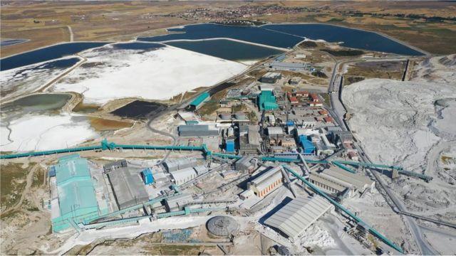 La mina de Eti Mine Works