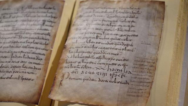 Copia de las Glosas Emilianenses
