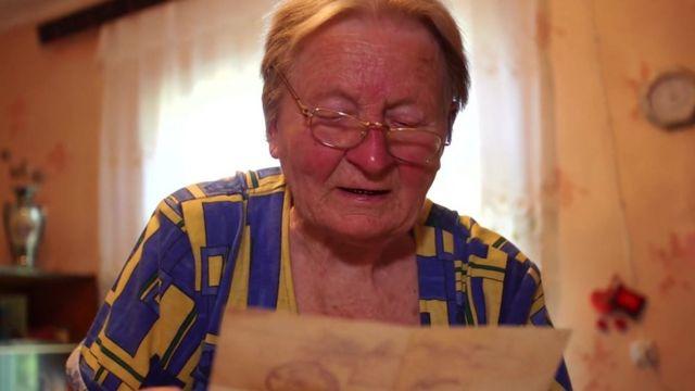 Antonina Bilokurova, mãe de Igor
