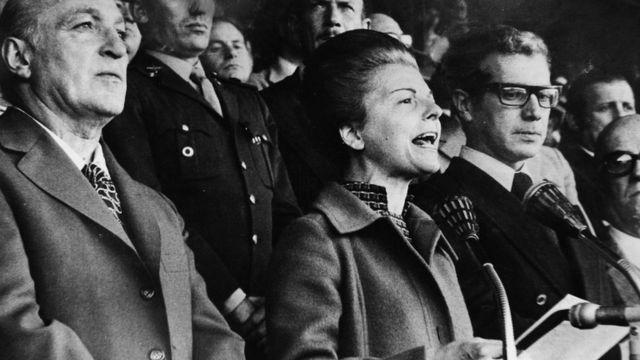 Isabel Martínez de Perón.