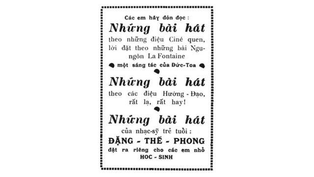 Quảng cáo, Học Sinh 5 tháng 5 1939, tr. 18