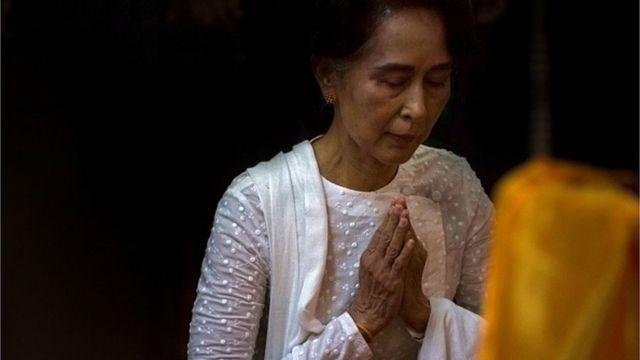 นางอองซานซูจีกล่าวต่อประชาคมโลกให้ร่วมมือแก้ไขสถานการณ์โรฮิงญา