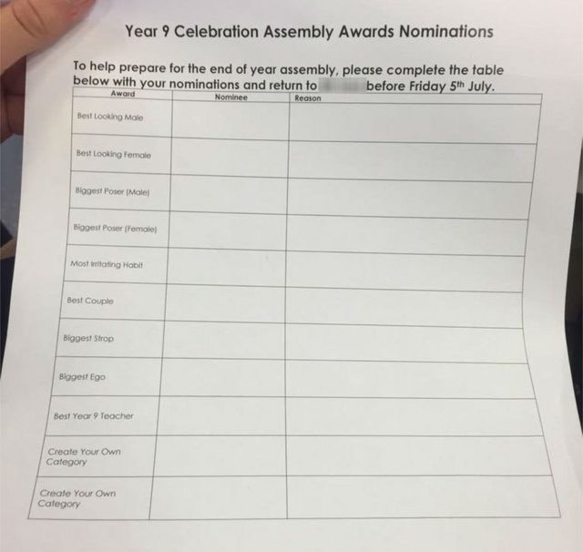 Hugh Christie School asks for 'best looking' pupil votes