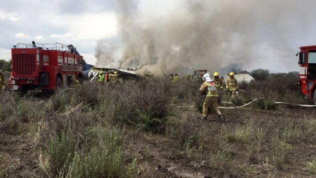 Pad aviona u Durangu u Meksiku, 31. jul 2018