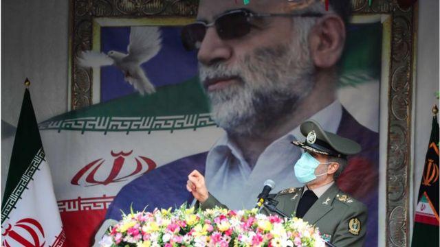 وزير الدفاع، العميد أمير حاتمي