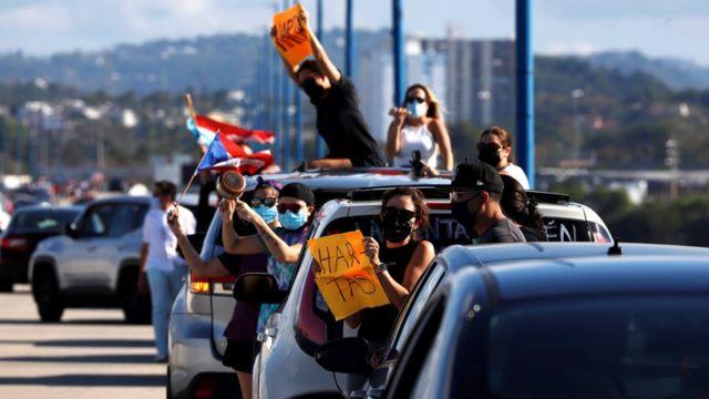 Cierre del puente Teodoro Moscoso en Puerto Rico por la muerte de Keishla Rodríguez Ortiz