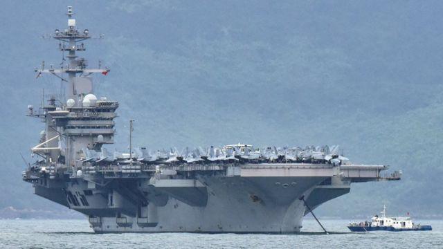 Tàu sân bay USS Theodore Roosevelt đến Đà Nẵng ngày 5/3
