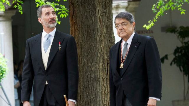 Ramírez y Felipe VI