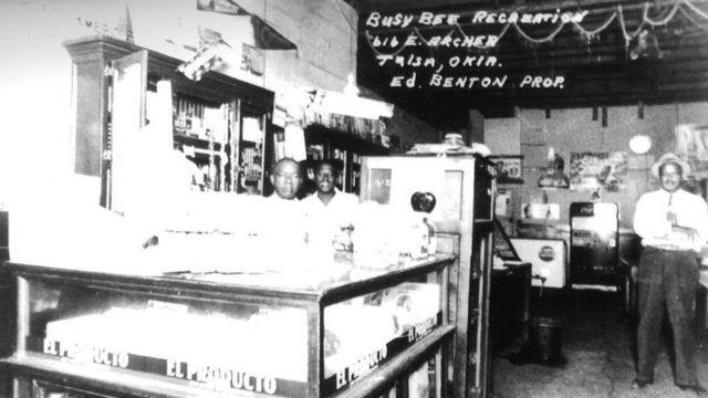 Loja em Greenwood, antes do massacre