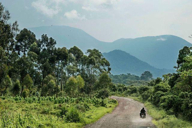 Дорога на вулканы