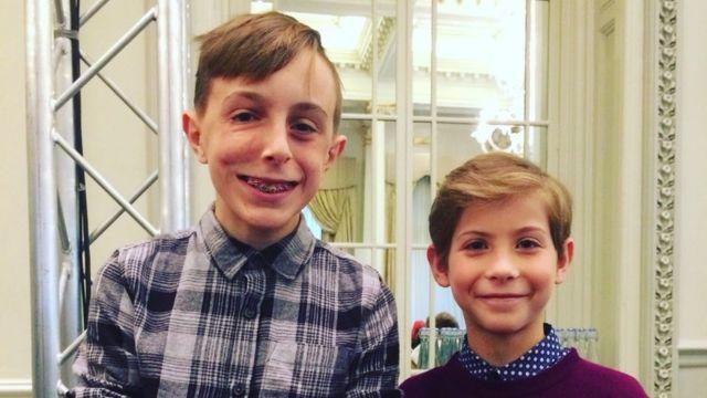 Marcus con Jacob Tremblay