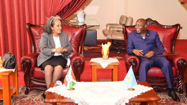 Sahle-Work Zewde na Evaritse Ndayishimiye
