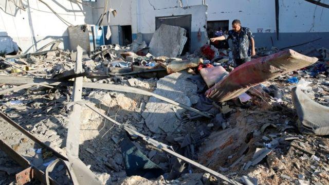 """وكالة اللاجئين التابعة للأمم المتحدة عبرت عن """"قلق بالغ"""" من نتائج الضربة."""