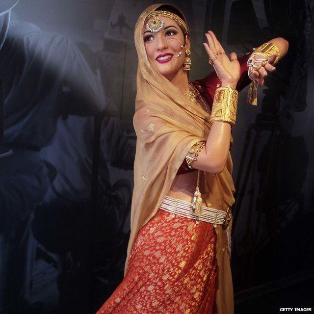 दिल्ली के मैडम तुसाद में मधुबाला