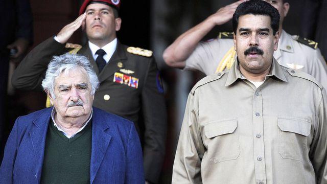 Mujica y Maduro