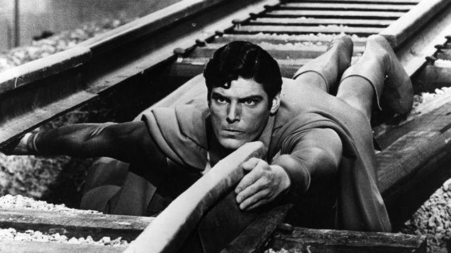1978 yapımı Superman filminden bir kare