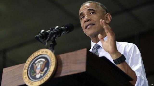 オバマ大統領は「危険な先例を作ることになる」と警告した