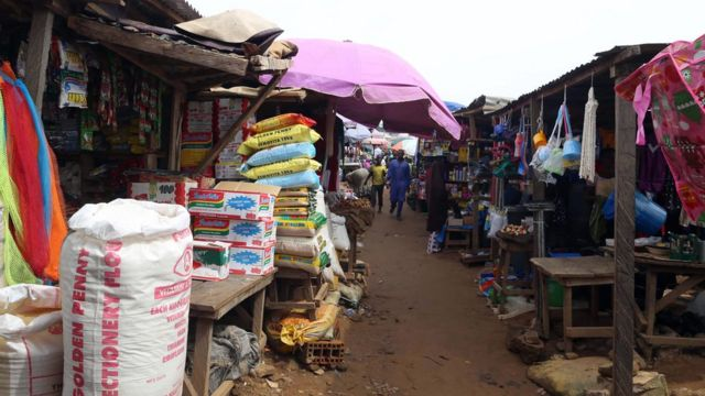 Kasuwa a Nigeria