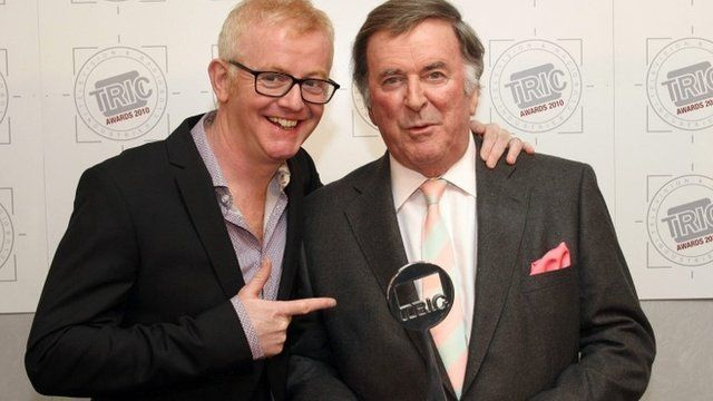 Chris Evans and Terry Wogan pictured in 2010
