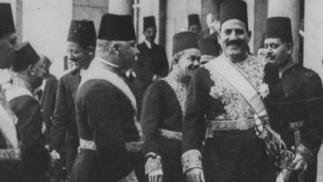 مصطفى النحاس رئيس وزراء مصر السابق