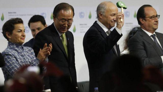 Laurent Fabius, président de la COP 21