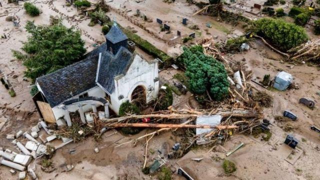 Inundaciones en Europa, 2021